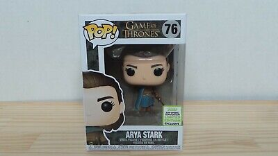 Funko POP! Arya Stark #76 ECCC 2019 Spring Convention Exclusive Game of Thrones