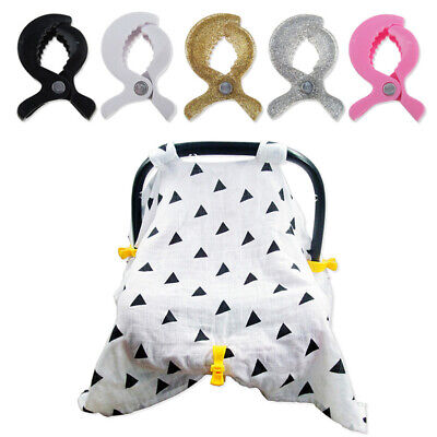 Car Seat Accessories Baby Toys Lamp Pram Stroller Peg To Hook Cover Blanket Clip
