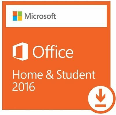 Microsoft Office 2016 Home and Student Windows Product Key 1 User  79G-0458