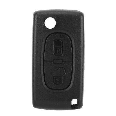 ABS Car 2 Button Remote Key Fob Case Shell Cover For Citroen C2 C3 Xsara Picasso