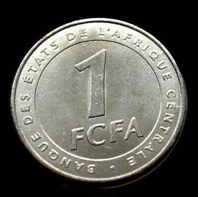 Central African States 1 franc 2003 UNC Antelope