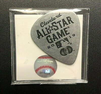 2019 MLB All-Star Game Guitar Pick SGA 7-7-19 Cleveland Rock and Roll NEW