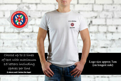 North Yorkshire Fire & Rescue Personalised T Shirt