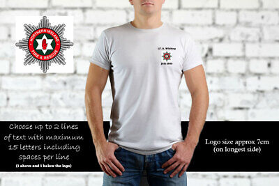 Northern Ireland Fire and Rescue Service Personalised T Shirt