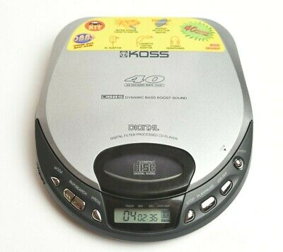 KOSS CDP688 Series Silver CD Player...TESTED