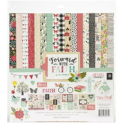 Echo Park Collection Kit - FORWARD WITH FAITH - papers & stickers