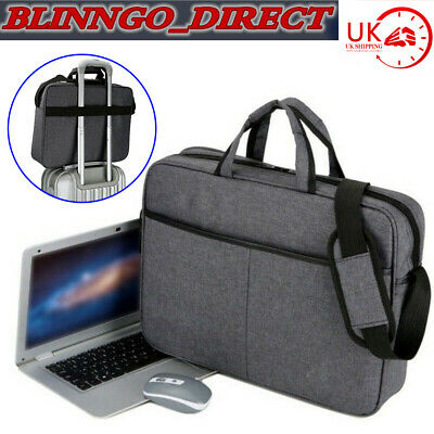 15.6 inch Laptop PC Shoulder Bag Carrying Soft Notebook Case Cover