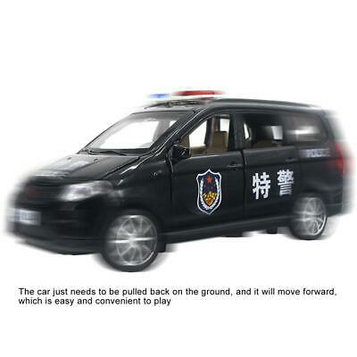 Pull Back Toy Child Kid High Simulation China Police Car Model Vehicle Toys