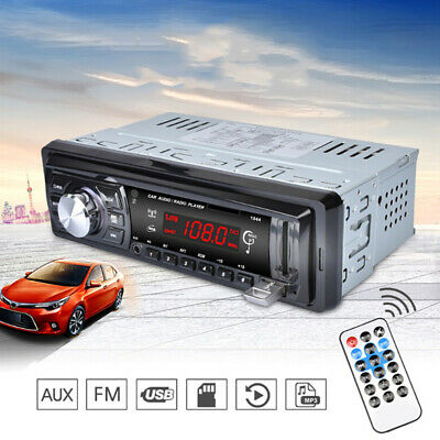 Car LED Display Stereo Audio FM Aux Input Receiver SD USB MP3 Radio Player  Call
