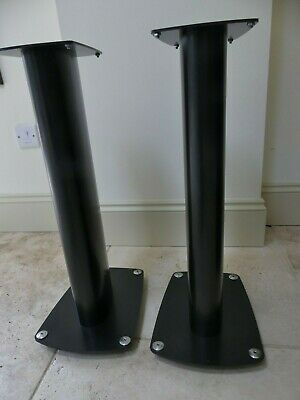 Pixel Plus ? Speaker Loudspeaker stands black excellent 60cm tall spiked option