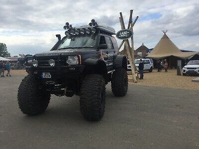 Land Rover Discovery 3 monster truck (unique far as we know.biggest in world)