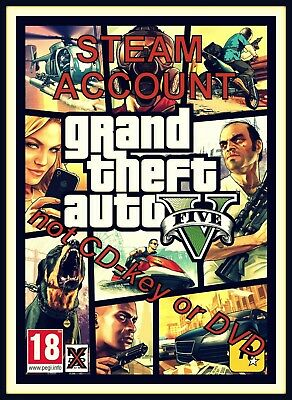 Grand Theft Auto 5 / GTA 5  [Steam Account / NOT CD-KEY] + online available