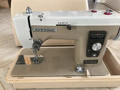 New Home Janome Model 535 Heavy Sewing Machine