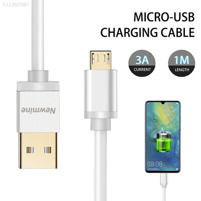 8BE5 Micro USB Charging Cable Data Cable Male To Female 3A 1M Fast Charge Cable