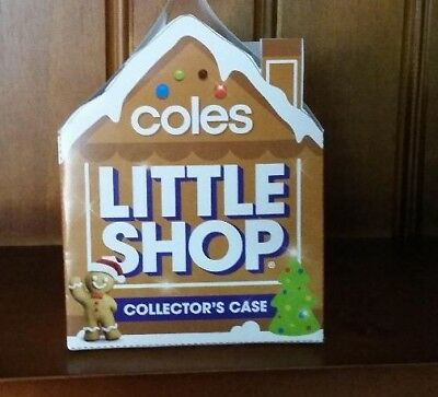 Coles christmas little shop diy collectors case fits 5 minis