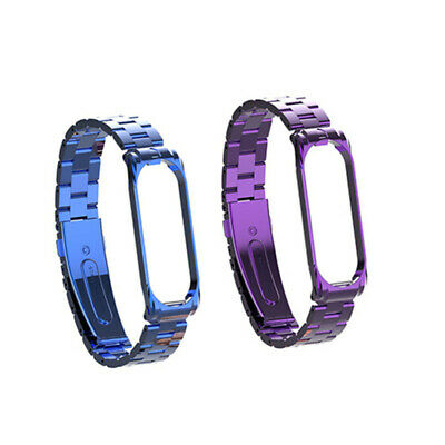 Stainless Steel Bracelet Strap Replacement Watch Band Wrist For Xiaomi Mi Band 4