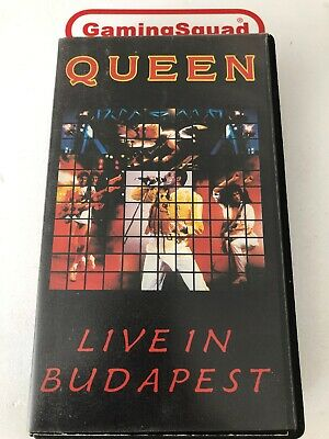 Queen, Live in Budapest VHS Video Retro, Supplied by Gaming Squad