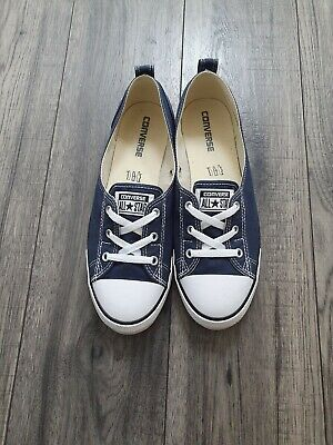 Womens Converse CT Lady Ballerina Ox Low Trainers Size BNWT
