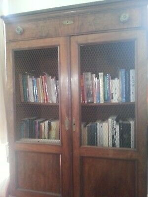 Antique Bookcase (French Bibliotheque)