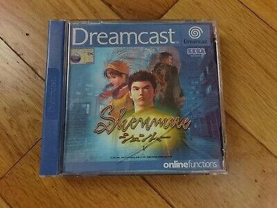 Shenmue dreamcast case & manual only - no game