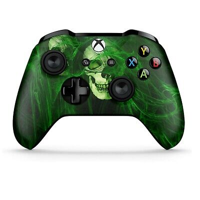 SONY Playstation PS4 Dualshock 4 Wireless Customized Controller Green Skull
