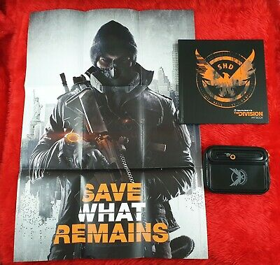 TOM CLANCY'S The DIVISION Artbook + Armband + Poster *NEW* Clancys Playstation