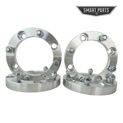"""4x137 10mm Stud Aluminum Wheel Spacers Can am 1000cc renegade 4qty 2/"""" 4x136.5"""