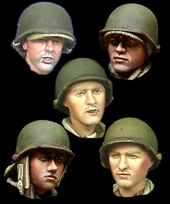 WW2 US INFANTRY & vehicles - painted models 20mm - Lot 57