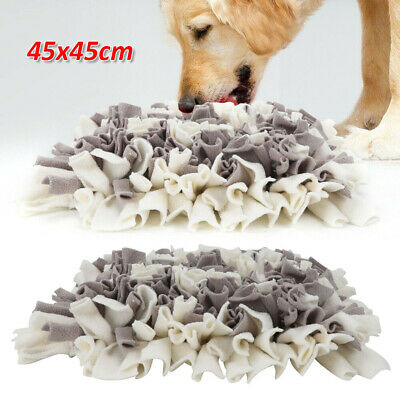 Dog Cat Snuffle Mat Pet Food Mat Pressure Relieving Nosework Training Washable