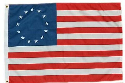 2x3 Betsy Ross USA American 13 Star Flag Banner FAST SHIP by FanzofSportz