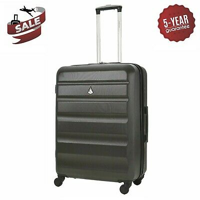 """Aerolite 25"""" Lightweight Hard Shell Suitcase 4 Wheel Hold Check In Luggage Bag"""