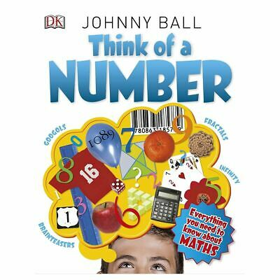 DK Think Of A Number Educational Toys Books