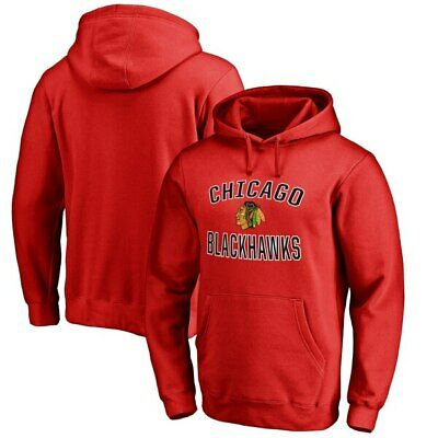 NHL Youth Chicago Blackhawks Prime Fleece Red Pullover Hoodie