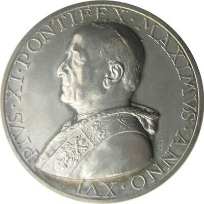 MEDAL - Pius XI year XVI of 1937 - Pontifical Academy of Sciences - silver - UNC