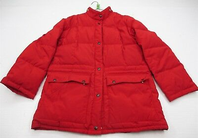 THE COMPANY STORE Men's Size L Ski Snow Goose Down Red Jacket
