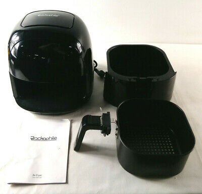 Rackaphile 3.7 Quart Electric Air Fryer with 8 Preset Settings Temperature Timer