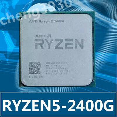 AMD Ryzen 5 2400G 3.6GHz Quad-Core  Socket AM4 RX-VEGA CPU 65W CPU Processor