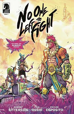 No One Left To Fight #1 (1St Print Shipped Bagged, Boarded In A Cardboard Mailer