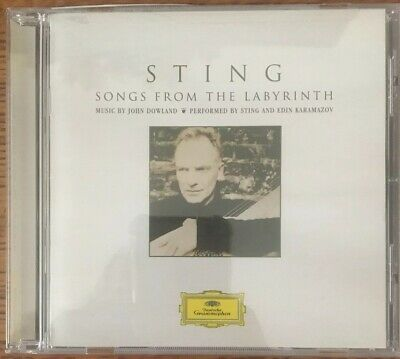 Sting: Songs from the Labyrinth - Music Of John Dowland CD, VG