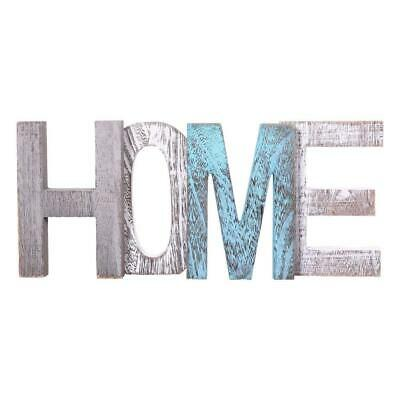 """Comfify """"HOME"""" Decorative Wooden Letters - Large Wood For Wall Decor..."""