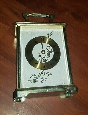 Acctim Mantel Carriage Clock Traditional Mantle Shelf Clock Made in Germany