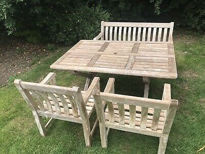 Fantastic Alexander Rose Garden Furniture 3 Cornis 4Ft Benches And Pabps2019 Chair Design Images Pabps2019Com