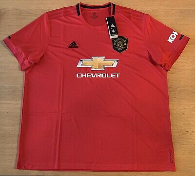 Manchester United Home Shirt 2019/20 Men's 3XL BNWT RRP £64.99
