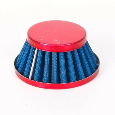 Air Filter Luftfilter Powerfilter Shorty 44-58mm rot Kymco Aprilia Atala/Rizzato