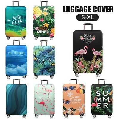 19''-32'' Thicker Flamingo Luggage Cover Travel Suitcase Protective Cover Trunk