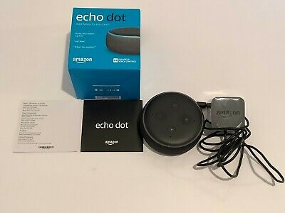 ** NEW Amazon Echo Dot (3rd Gen) - Smart speaker with Alexa** - Charcoal