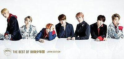 The Best Of BTS -Japan Edition- Luxury Limited Edition CD and DVD  F/S .
