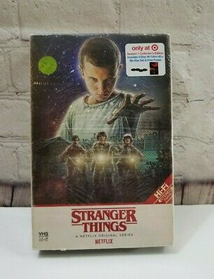 Stranger Things : A Netflix Original Series : Season 1 Collector's Edition VHS