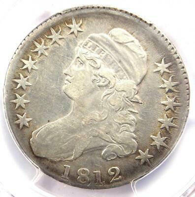 1812 Capped Bust Half Dollar 50C - PCGS XF Details (EF) - Rare Certified Coin!