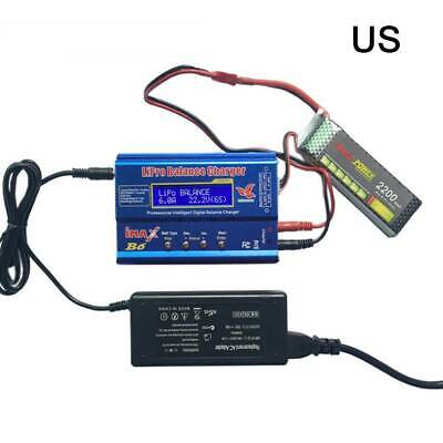 IMAX B6 Mini Balance Charger Discharger 80W Re-peak LCD Smart Battery Charger US